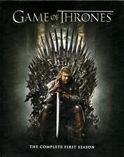 5 Blu-rays: GAME OF THRONES The Complete First Season 1 + WESTEROS-Landkarte/map