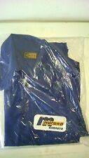 McCord Gaskets Mechanics Jacket, Dark Blue Cotton Twill, Late 1970's, Unopened.