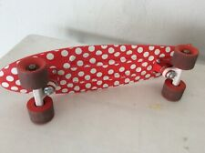 "Original Red Penny Board Authentic 22"" Australia Cruiser With Polka Dots"