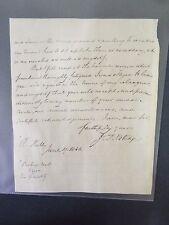 Rev. John Tomas Noltidge - Signed Letter - 1840