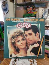 GREASE 2 LP SET, JOHN TRAVOLTA & OLIVIA NEWTON-JOHN MOTION PICTURE SOUNDTRACK vg