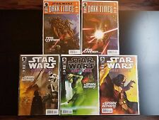 Star Wars Dark Times Spark Remains #1, 2, 4 & Fire Carrier #2, 3 Comic Lot VF/NM