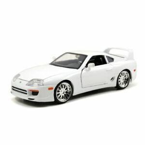 Fast And Furious 7 Brians Toyota Supra Blanc 1:24 Echelle Jada 97375
