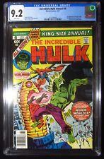 Incredible Hulk Annual #6 1977 (Marvel) CGC 9.2...1st Paragon (Her). Dr. Strange