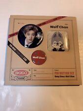 STRAY KIDS SKZOO #LoveStay Official Merchandise Pin Badge Set - BANG CHAN
