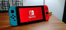 ** Like New ** Nintendo Switch V2 with Neon Blue and Neon Red Joy-Cons **USED**