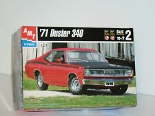 AMT #8437 1/25 1971 DUSTER 340 OPEN