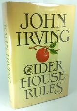 """The Cider House Rules,"" by John Irving, 1st Edition 1st Printing"
