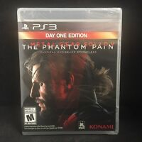 Metal Gear Solid 5 V: The Phantom Pain Day One Edition (PS 3) BRAND NEW