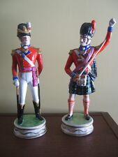 Dresden porcelain figurine - Black Watch Officer 1815, 42nd Royal Highland Regt.