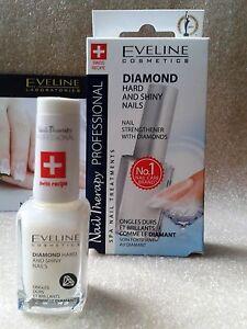 Nail Strengthener With Diamonds, Diamond Hard and Shiny Nails Eveline Cosmetics