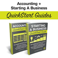 Accounting & Starting a Business QuickStart Guides Discount Bundle (Limited Qty)