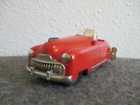 1940s SCHUCO RADIO 4012 TIN WINDUP RADIO TOY CAR+KEY US ZONE GERMANY WORKS GOOD