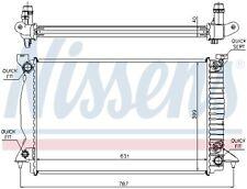 NISSENS Motorkühler Wasserkühler 60314A für AUDI A4 8EC B7 Avant 8ED 8H7 B6 8HE