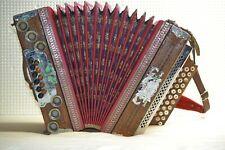 Steirische Harmonika von Lubas & Sohn Klagenfurt Ziehharmonika ca. 1920