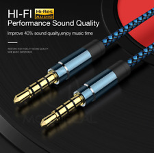 Aux Kabel Klinke Stecker 3,5mm Audio Stereo 1,5m High End Aux in HI-FI Cable