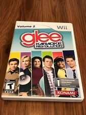 Karaoke Revolution: Glee - Vol. 2 (Nintendo Wii, 2011) COMPLETE! Game Only!