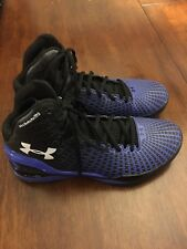 Under Armour Micro G Clutchfit Drive Mens Basketball Shoes Blue/Black Size 8