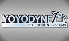 Yoyodyne Propulsion Systems Car Emblem - Buckaroo Banzai Chrome Plastic