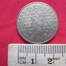 Frankreich - France 10 Francs 1987 - Millenaire Capetien - XIV