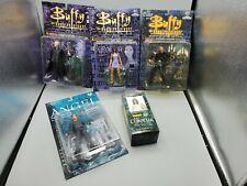 5 Moore Buffy the Vampire Slayer Collectible Figures Spike Cordelia Angel Master