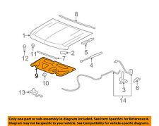 GM OEM Hood-Insulation Pad Liner Heat Shield 15828995