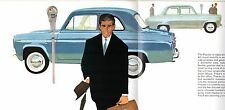 Ford Popular 100E 1961-62 UK Market Sales Brochure Standard De Luxe