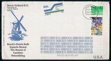 Mayfairstamps NETHERLANDS AD 1987 COVER HILLEGOM BRECK HOLLAND BV wwm44501