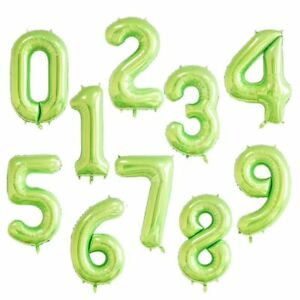 40'' 9 Colors Numbers Foil Balloon Baby Shower Birthday Party Wedding Decor op