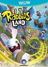 Nintendo WiiU Wii U Spiel Rabbids Land NEU