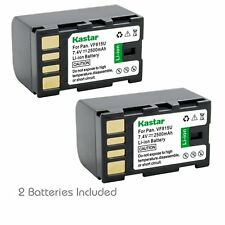 2x Kastar Battery for Jvc Bn-Vf815 Gs-Td1 Gy-Hm70U Gy-Hm100U Gy-Hm150U Gz-Hmz1U