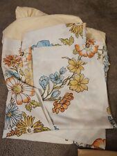 Vintage Springs Queen Yellow Cotton Blend Sheet Set