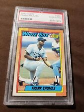 Topps 1990 #1 Draft Pick Frank Thomas #414 Graded GEM MT10