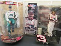 Dale Earnhardt Sr and Jr Figures 2 SEALED Pkgs. (2 lot)WinnersCircle/Action