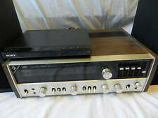 Vintage JVC VR-5535X Wood Cabinet Stereo Receiver Tested but for Parts or Repair