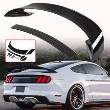 Painted Glossy Black Trunk Spoiler Wing For Ford Mustang 2015-2017 GT350 Style