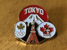 2020 Toyko Canada Judo COC NOC Olympic Pin