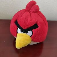 "Angry Birds Plush Red Bird Toy Stuffed Animal 5"" Commonwealth"