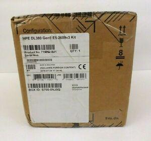 HPE 719052-B21 E5-2609v3 DL380 Gen9 6-Core Processor 1.9GHz 15MB LGA2011