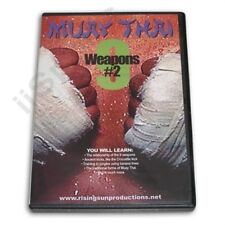 Ancient Muay Thai 9 Weapons Training #2 DVD kickboxing thailand fighting boxing