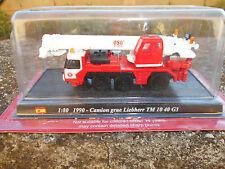 Die cast pompieri  1990 CAMION GRUE LIEBHERR TM 10 40 G3  SCALA 1/80