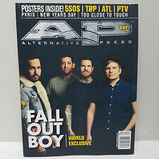 FALL OUT BOY Alternative Press AP June 2017 Magazine 347 Cover 1 5SOS ATL PTV