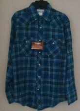 Mens Ex WRANGLER check shirt SIZES M, L XLTALL, XXL