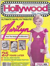 AUG 1987 HOLLYWOOD STUDIO vintage movie magazine MARILYN MONROE