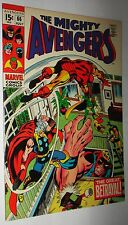 AVENGERS #66 BARRY SMITH ULTRON NEWSTAND FRESH 9.6 W/OW PAGES