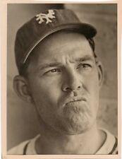 Mel OTT 1942  5.5 x 7 Original Photo NY Giants Photo New York Press