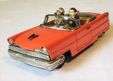 """Ichiko Kanto Toys Japan Friction """"LOOK WHO'S DRIVING"""" LINCOLN CONVERTIBLE MINT"""