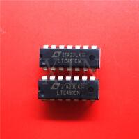 10PCS LTC491CN Encapsulation:DIP-14,Differential Driver and Receiver Pair