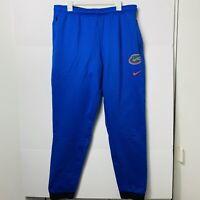 Nike FL Florida Gators Dri-fit Therma Jogger Pants Football Blue Mens Size:XL