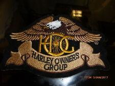 Harley Davidson HOG Emblem Patch